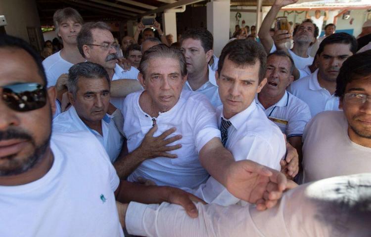 Curandero de presidentes preso