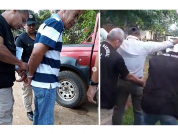 Agentes de la PN conducen a productores involucrados en la protesta del martes