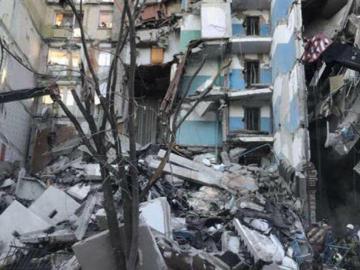 Se desploma un edificio en Rusia