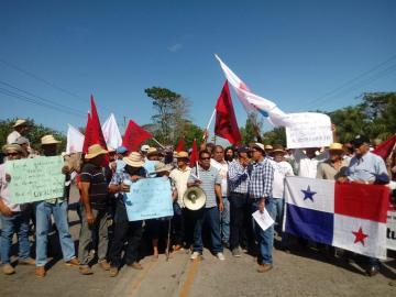 Con protesta, agricultores exigen al Gobierno un freno a las importaciones