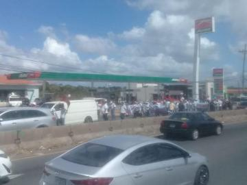 Productores, respaldados por Suntracs, cierran vías en La Chorrera