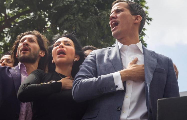 """Almagro saluda """"asunción"""" de Guaidó como """"presidente interino"""" de Venezuela"""