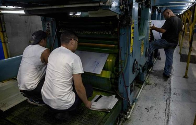 Diario La Prensa de Nicaragua cambiará de formato por retención de su papel
