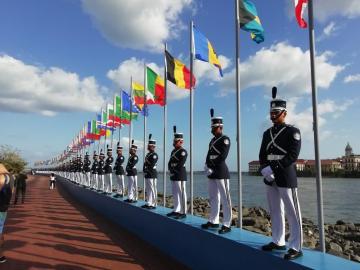 Varela inaugura centro de operaciones de seguridad para la JMJ
