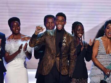 """""""Black Panther"""" reina en los premios del Sindicato de Actores"""