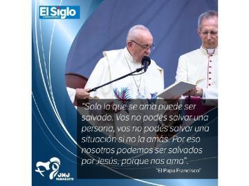 Las frases del Papa Francisco a su paso por Panamá