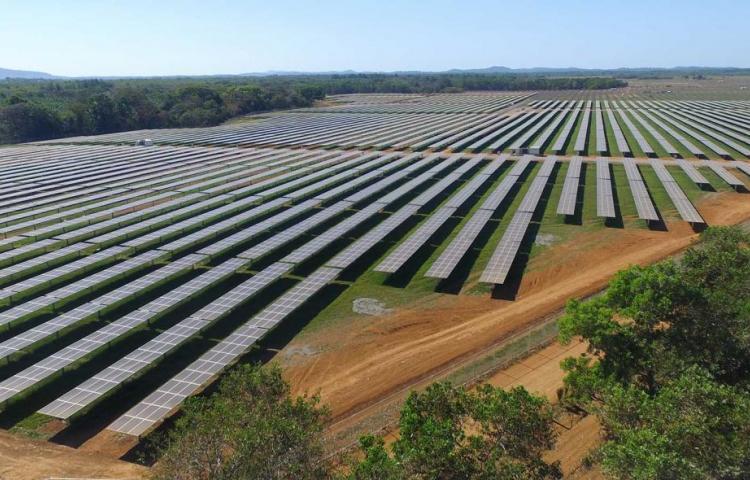 Un nuevo parque solar comienza a producir 40 MW en el occidente de Panamá