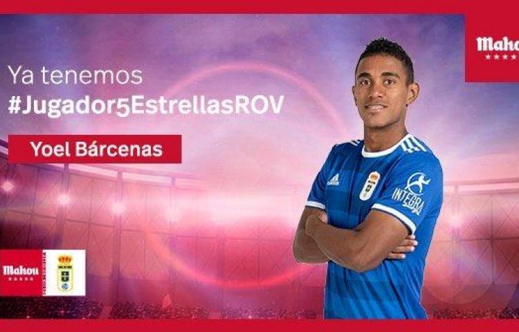 Bárcenas es el jugador del mes en España