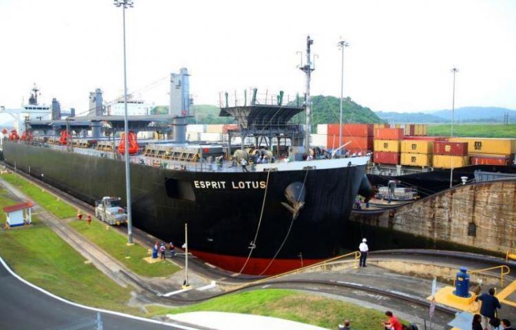 Los ingresos del Canal de Panamá crecen 8,5 % en el 2018