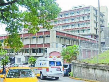 Filtración de agua en un búnker provoca molestias en el Instituto Oncológico