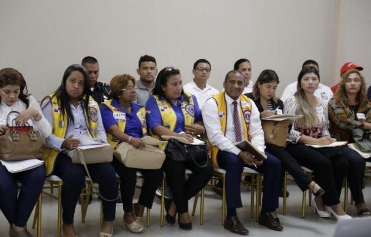 La sociedad civil se capacita sobre temas de Justicia Comunitaria