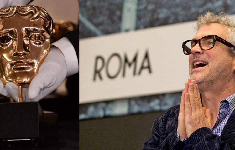 """Alfonso Cuarón llega a los Bafta feliz con las 7 nominaciones de """"Roma"""""""
