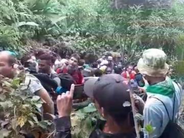 Migrantes desesperados por entrar por Guna Yala