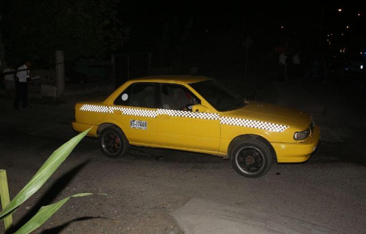 Preso por robar y privar de libertad a un taxista