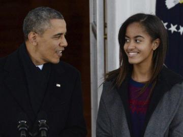 Captan a hija de Obama haciendo una ilegalidad