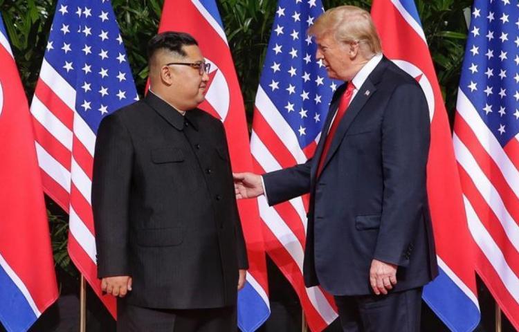 Kim Jong-un dice que irá a EEUU a reunirse con Trump a final de este mes