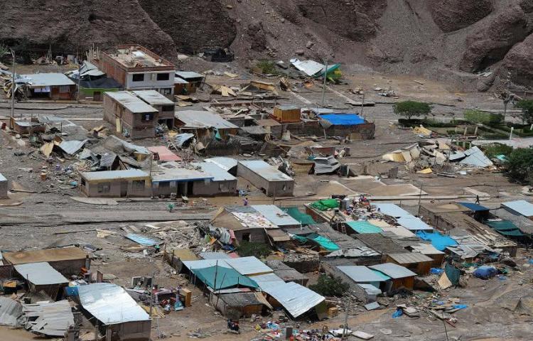 Lluvias han dejado 39 muertos y 8.299 afectados tras inundaciones en Perú