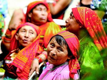 Mujeres políticas indígenas en el olvido