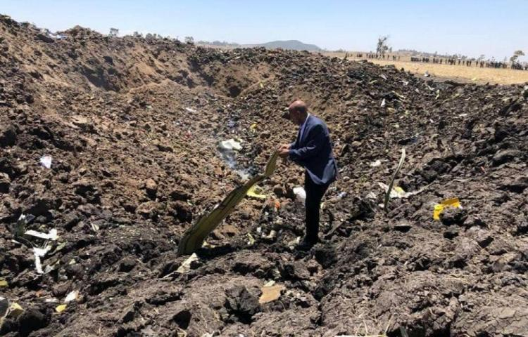 157 personas mueren en accidente aéreo