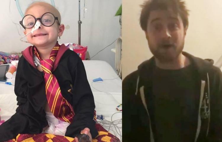 Muere Gigi, la niña mexicana con cáncer que recibió saludos de Harry Potter