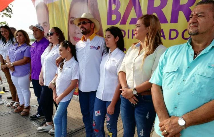 Lanza campaña de reelección en Chilibre