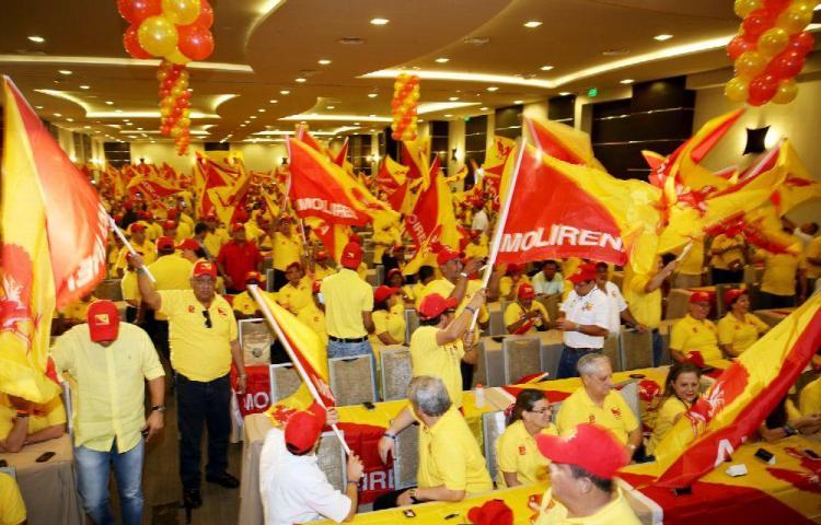 Votos del Molirena y del PP fragmentados