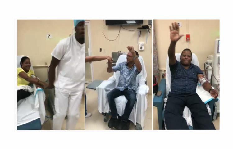 ES Viral: Pacientes de diálisis, médicos y enfermeras bailan canción de Daddy Yankee