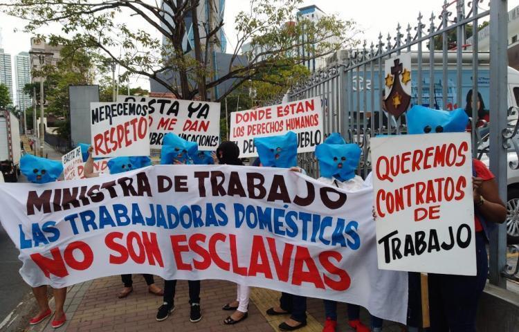 Trabajadoras domésticas volverán a las calles
