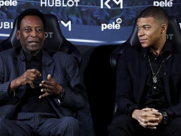 """Pelé a Mbappé: """"Tienes el estilo de un brasileño"""""""