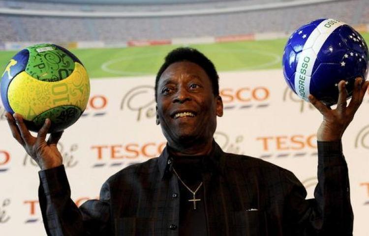 Pelé se recupera de su infección urinaria