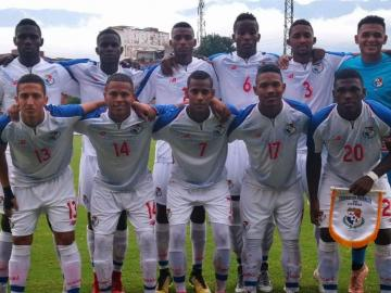 La Selección Sub-20 de Panamá cae ante Colombia en el partido amistoso
