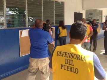 Defensoría del Pueblo detectó irregularidades en escuelas