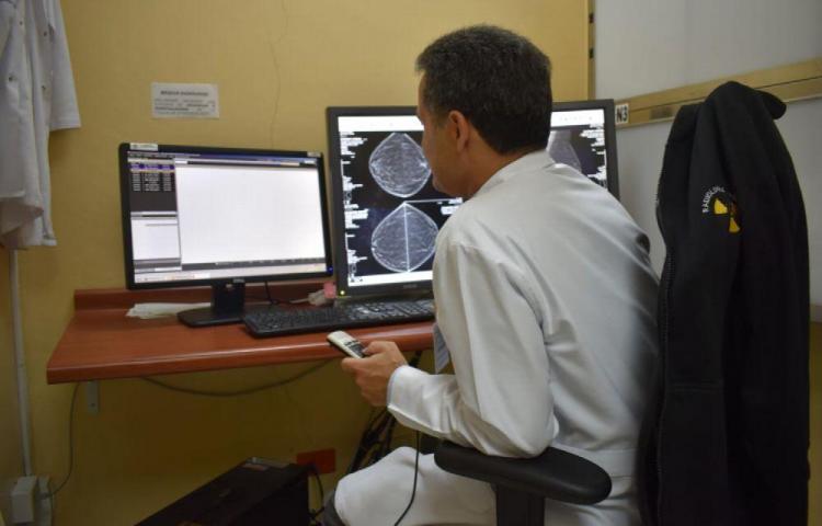 Seis millones de estudios radiológicos en la CSS