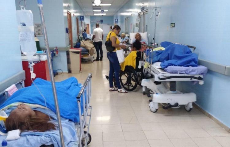 Una tarde en la sala de urgencias del Complejo