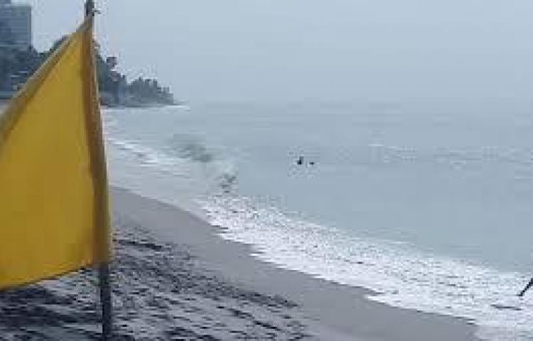 Advierten de riesgo por mareas altas en esta Semana Santa