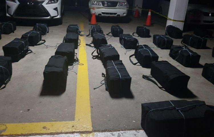 Decomisan en Panamá 1.025 paquetes de droga en un puerto a orillas del canal