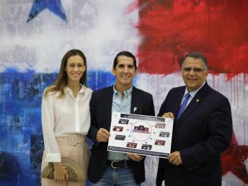 Roux espera poner al deporte en Panamá en el sitial que se merece