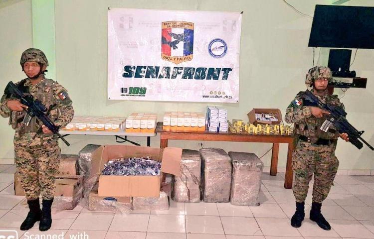 Decomisan fármacos para disfunción eréctil procedentes de Colombia