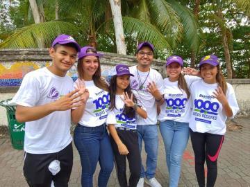 Blandón cierra campaña con 'Mil Buenas Acciones'