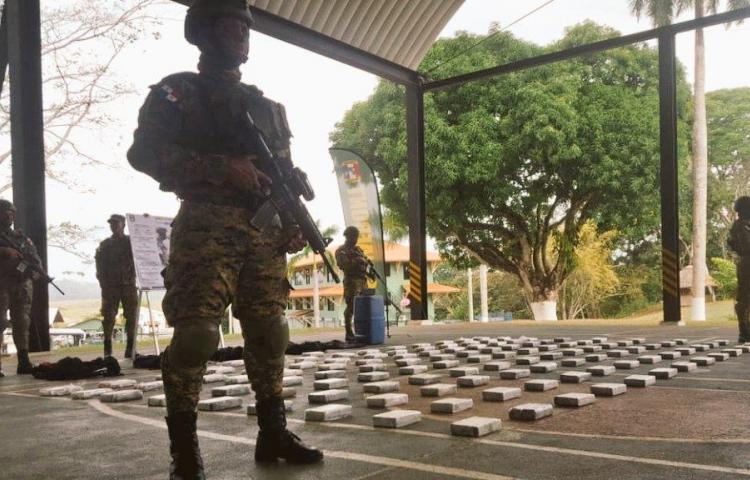 Incautan más de 120 paquetes de droga en Guna Yala