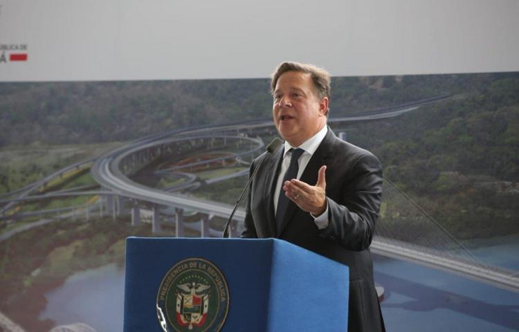 Varela da inicio a la construcción del cuarto puente sobre el Canal de Panamá