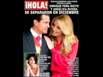 Expresidente mexicano Peña Nieto oficializa su divorcio de Angélica Rivera