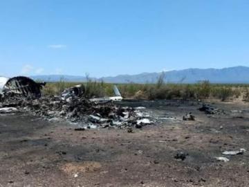 Mueren 14 ocupantes de avión privado accidentado en el norte de México