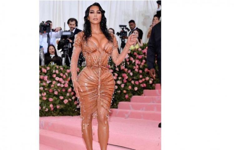 La cintura que lució Kim Kardashian en Met Gala 2019 tiene un por qué