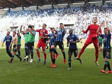 El Atalanta, imparable hacia la Champions