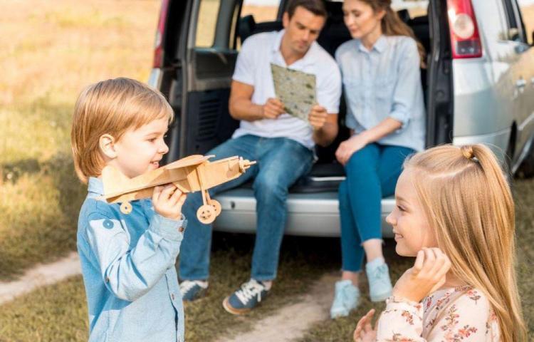 Dedique el fin de semana a sus hijos