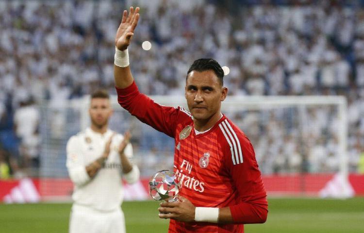 Keylor Navas no seguirá en el Real Madrid