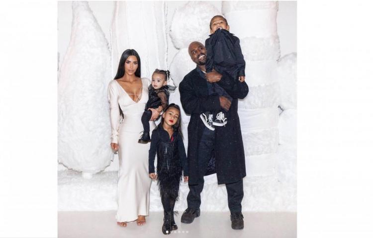 Fuertes rumores indican que Kim y Kanye nombraron a su cuarto hijo como 'Oso'