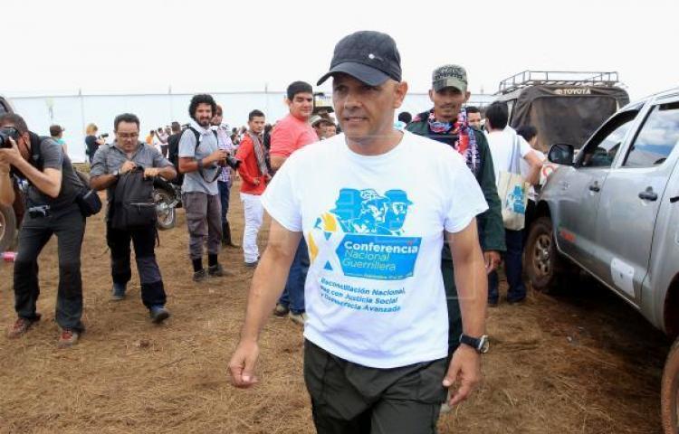 """Colombia confirma orden de captura contra exjefe de las FARC alias """"El Paisa"""""""