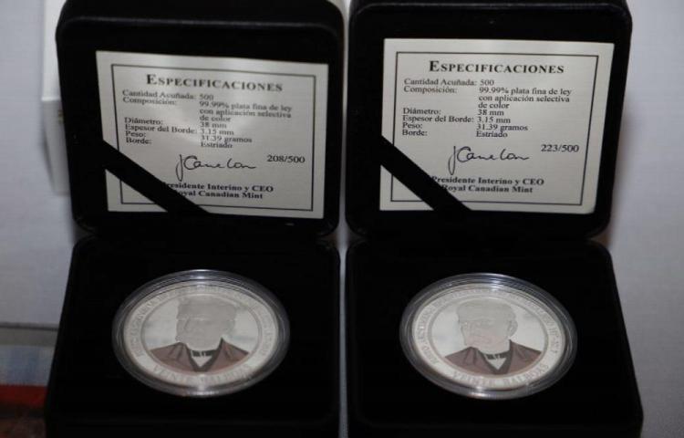 Circula un millón de dólares en monedas del bicentenario de Don Justo Arosemena